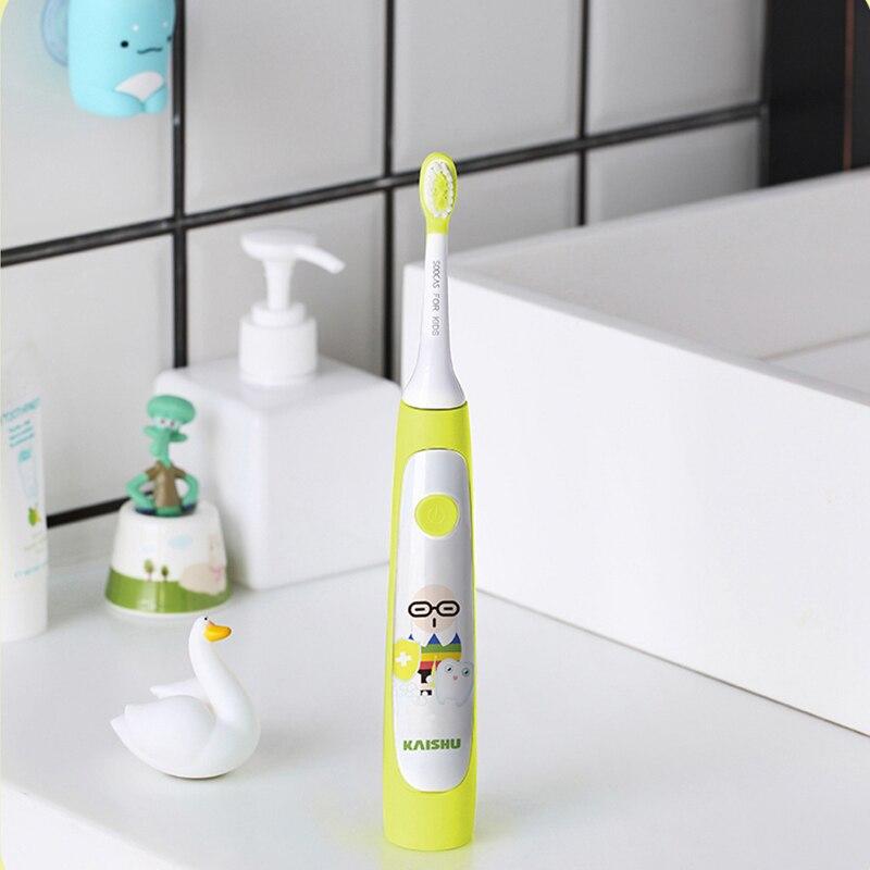 SOOCAS C1 Cute Waterproof Sonic Electric Toothbrush Kids Rechargeable Ultrasonic Toothbrush Dental Care Brush