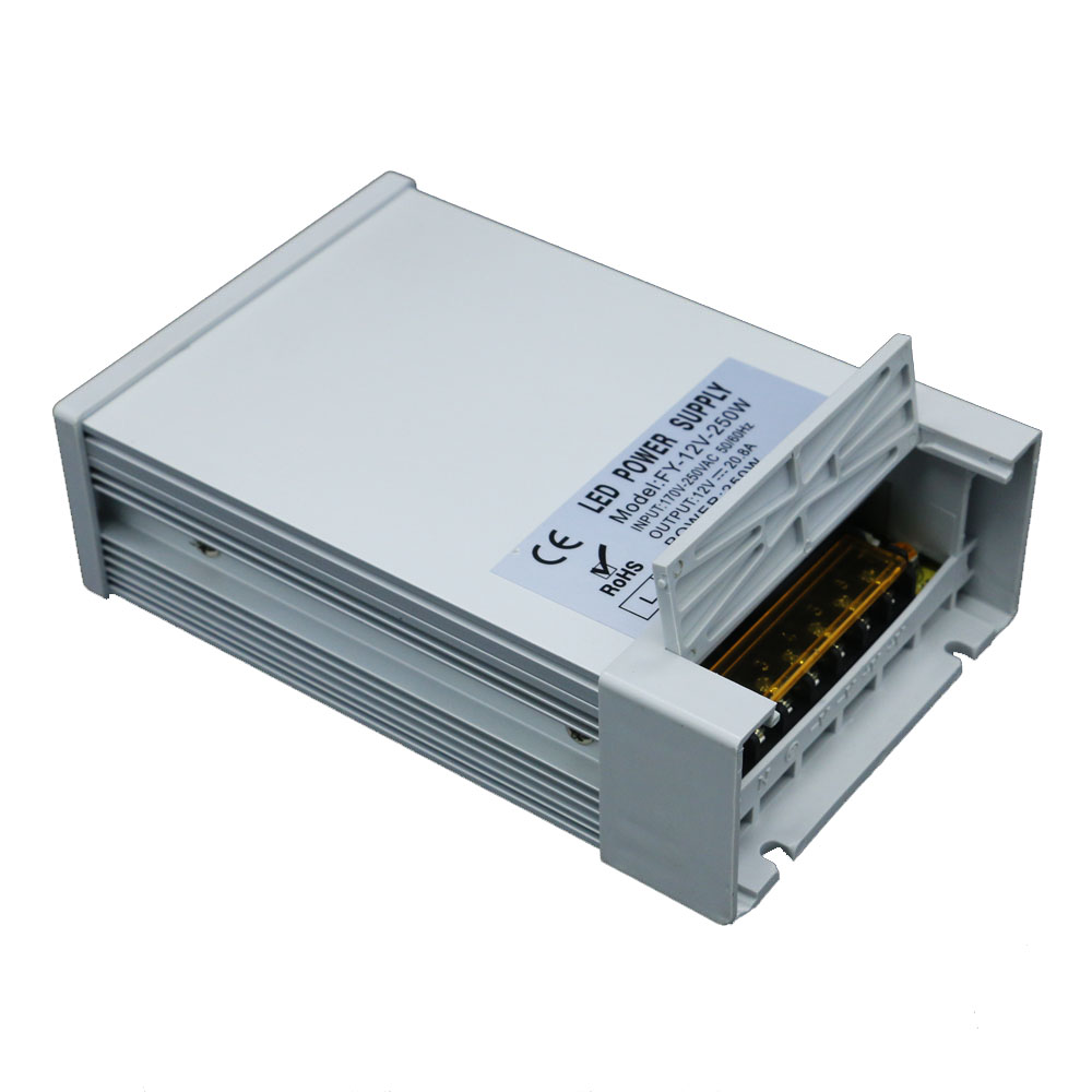220v to 12v led power supply ac dc voltage converter power supply 220v to 12v 20a 250w switch power for led lighting 12v dc lighting transformer power supply switch adapter ac 110 220v to dc 12v 20a 250w led driver for led strip lights