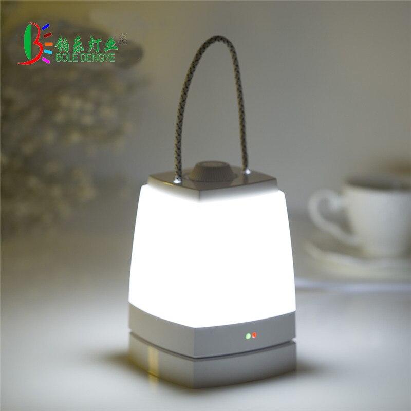 2018 Hot Lantern Emergency Table Lamp Stepless Diammable Night Light Children Baby Night Light Lamp decoration For Nursery room
