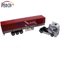 Alloy Diecast Truck Models Container Transport 1 50 Engineering Car Vehicle Scale Truck Collection Gift Toy