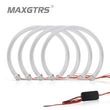 MAXGTRS مجموعة إضاءة LED ، 4 × 131 مللي متر ، Canbus ، بدون خطأ ، DRL ، لسيارات BMW E36 E38 E49 E46 3 5 7 Series