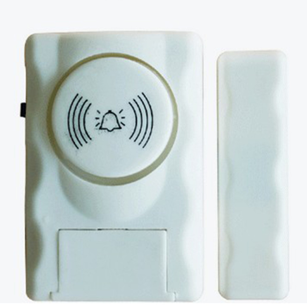New Wireless Home Security Door Window Alarm Personal Alarm Gap Magnetic Door Sensor Detector Home Burglar Alarm System Security yobangsecurity wireless door window sensor magnetic contact 433mhz door detector detect door open for home security alarm system