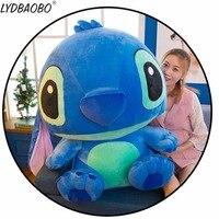 55/65/80cm Super Giant Stitch Plush Toys for kids Stuffed animals Anime Lilo and Stitch creative Valentine's Day birthday gifts