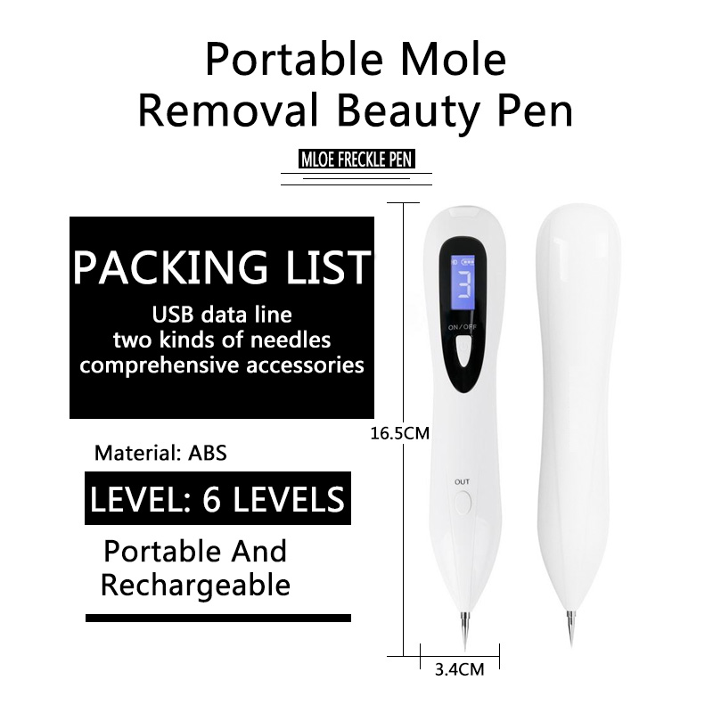 Plasma Pen Laser Freckle Removal Machine Painless Spot Mole Tattoo Wart Speckle Remover Pen Beauty Portable Care Equipment Skin linlin laser freckle removal machine painless spot mole tattoo wart speckle remover pen beauty portable care equipment skin care