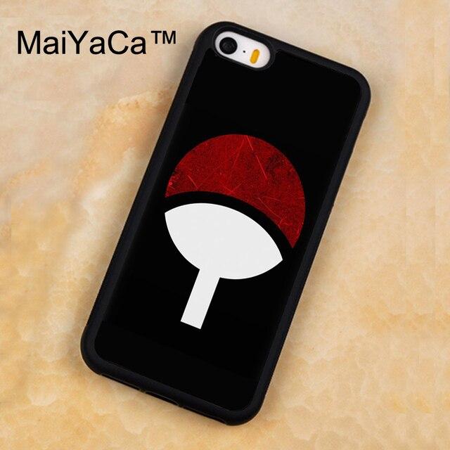 Maiyaca Naruto Shippuden Uchiha Itachi Logo Symbol Phone Case For