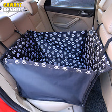 CANDY KENNELAnti-slip Safety Safety Dog Carriers Funda de asiento de coche para perros Pet Carrier Bag Esteras de coche plegable Hamaca Cojín D008