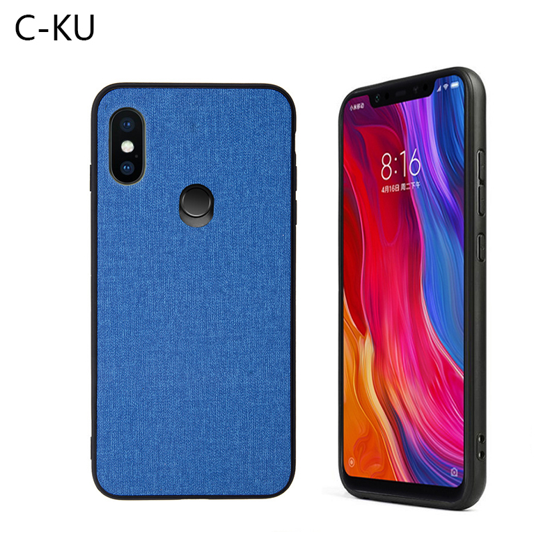 Fabric Case for <font><b>Xiaomi</b></font> Mi 8 Se Pro A2 Lite 6x 5x A1 Max 3 Mix 2s <font><b>2</b></font> <font><b>Redmi</b></font> S2 Y2 5 Plus <font><b>6a</b></font> Note 5 6 Pro Silicone Edge Hard Cover image