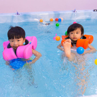 Apaffa Baby Float Ring Swimming Accessories Swim Arm Floats Swimming Pool Accessories Float Baby Ring For 2 4 Years Children