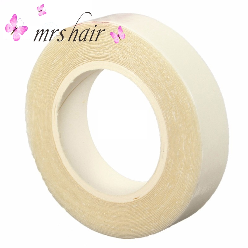 Strong White Glue Supertape 3 Yards Double Side Adhesives Tape For Tape Hair Extension Super Replacement Tape