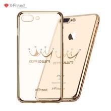 Фотография Crystal Phone Cases for Iphone 7 7 Plus Fashion Crown Patern Luxury Rhinestone Cute iphone 7 case Crystal Diamond Soft Shell