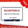 """Бесплатная доставка N116BGE-L41 N116BGE-L42 B116XW03 V.2 11.6 """"HD 1366*768 Для Acer Aspire One 722 725 Ноутбук светодиодный дисплей ЖК-Экранов"""