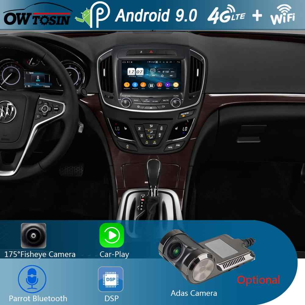 "8 ""IPS 1280*720 8Core 4G + 64G Android 9.0 Lettore DVD Dell'automobile Per Buick regal Vauxhall Insignia/Opel Insignia 2014 2015 2016 CarPlay"