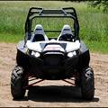 Acessórios Luzes Led Faróis Quadriciclo ATV Polaris RZR Polaris RZR XP 900 Novos faróis de LED 800 LEVOU faróis projetor Preto