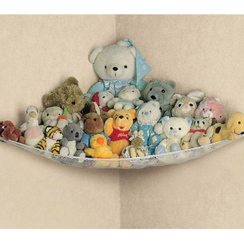 Cute Children Room Toys Hammock Net Stuffed Animals Toys Hammock Net Organize Storage Holder Home Save Space Storage Accessories