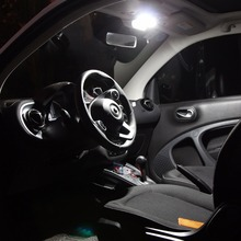 BEN INTELIGENTE 453 luzes Especiais de led para carros 3 pcs Lâmpada Luzes de Leitura E 1 pcsTrunk