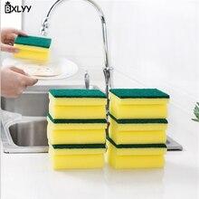 BXLYY5pc I-shaped Хлопковое полотенце для посуды кухонная губка щетка гаджеты украшения дома аксессуары газовая плита масла брызги экраны. 7z