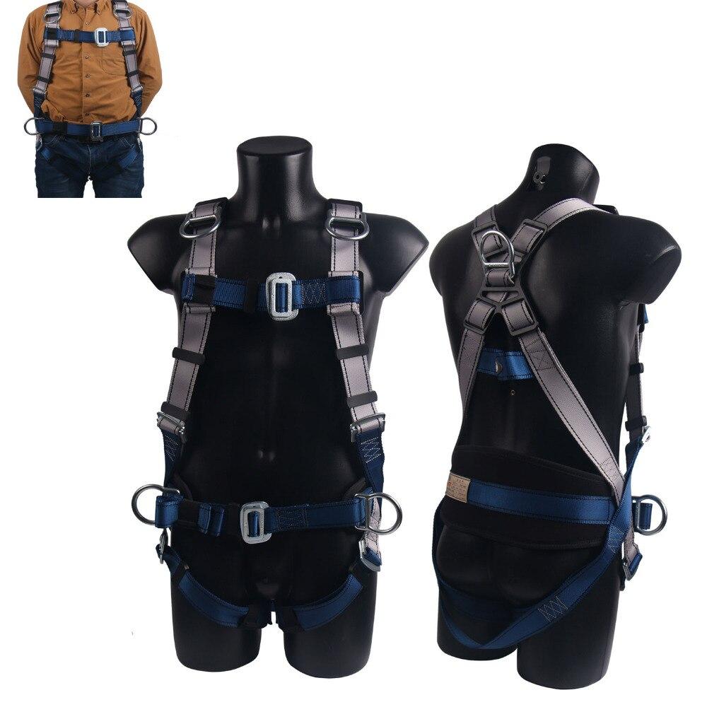 Harnais d'escalade professionnel ceinture de sécurité complète Anti-chute équipement de protection d'altitude