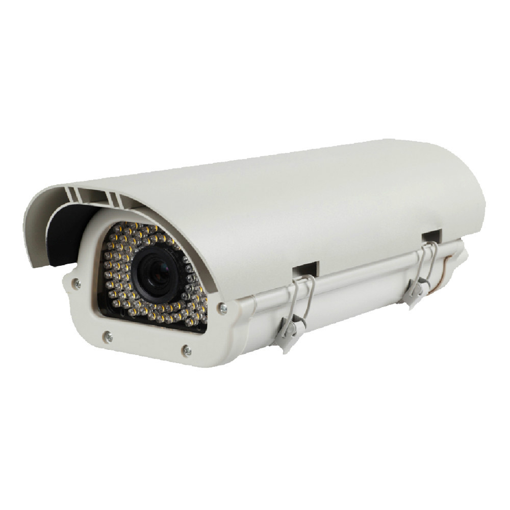 LPR Vehicle License Plate Recognition IP Cameras 1.3MP 960P with WDR HLC, 5 Traffic Mode
