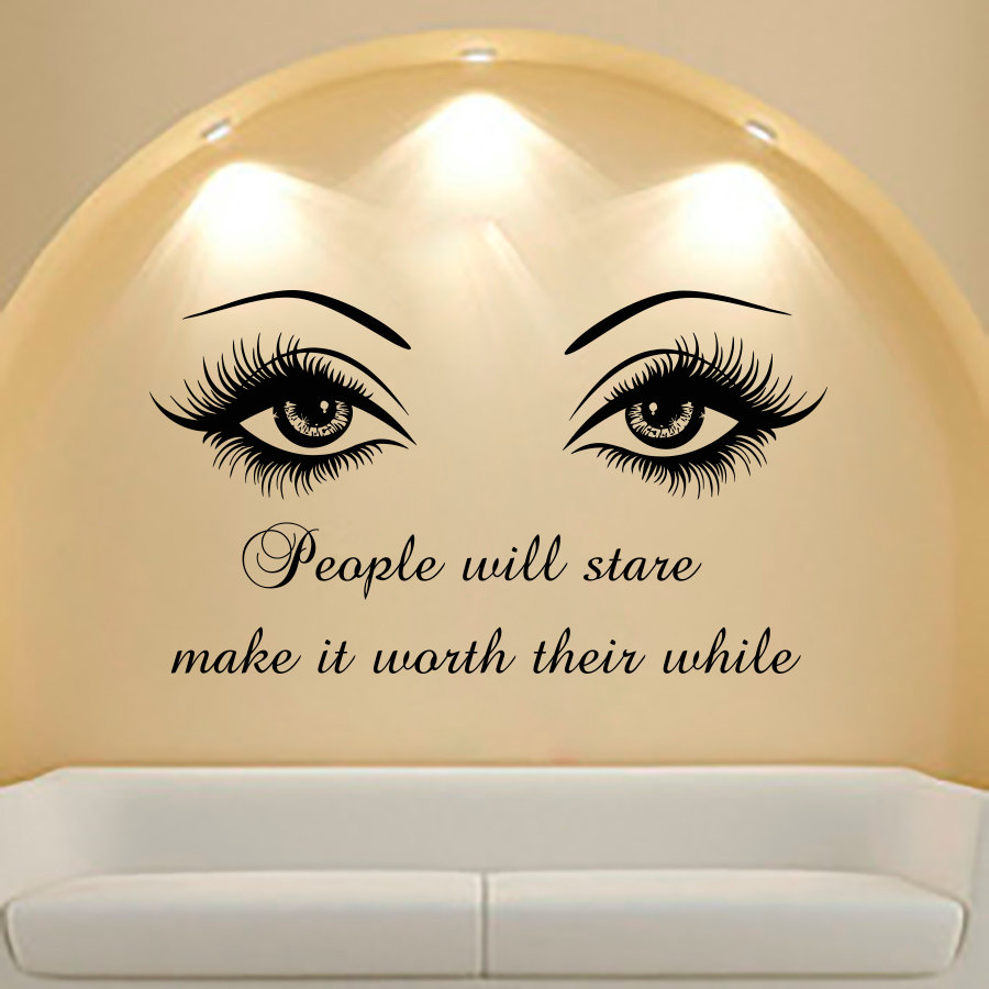 Online buy wholesale beauty girl quotes from china beauty for Decor quotes