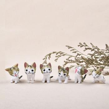 6 pcs /set Mini Cat Moss Micro World Bonsai Garden Small Ornament Landscape Home & Garden Decoration