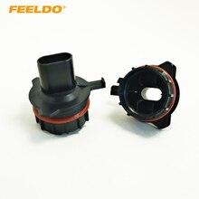 Feeldo 2 шт. автомобиля лампы гнездо адаптер для преобразования BMW E39 5 серии (Type1) h7 HID ксеноновая лампа ближнего света Установка #1056