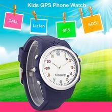 Diggro td01-b дети Безопасный Смарт-часы GPS LBS расположение трекер sos-вызов sim-карты детей brecelet для iOS и Android телефон