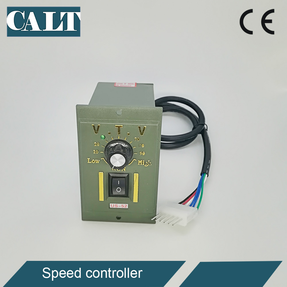 VTV US-<font><b>52</b></font> single phase ac gear motor speed regulator governor control unit 4 <font><b>10</b></font> 20 25 <font><b>30</b></font> 40 60 90 120 200 w watts image