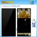 Alta calidad lcd de Repuesto de pantalla con pantalla táctil con digitalizador asamblea marco para xiaomi mi3 mi 3 m3 wcdma o TDSCDM + herramienta
