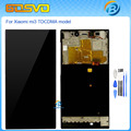 High quality Replacement lcd display with touch screen digitizer with frame For Xiaomi mi3 mi 3 m3 assembly WCDMA or TDSCDM+tool