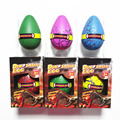 6 Colors  Children Gift Toys Cute Kawii Magic Eggs Growing Toys Dinosaur Eggs +SHOW BOX Hatching Action Figure Toys Gifts