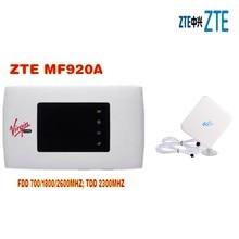 Unlocked ZTE MF920A 4G & 3G Mobile LTE WiFi Wireless Pocket Hotspot Router Modem+4G TS9 Antenna