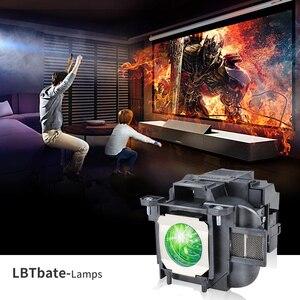 Image 5 - Elplp78/v13h010l78 substituição lâmpada do projetor para epson powerlite hc 2000/hc 2030/powerlite hc 725hd/hc 730hd bate feliz