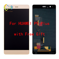 DREAM FISH LCD Digitizer Assembly display For Huawei P9 PLUS touch screen Digitizer Sensor Panel Assembly with Frame