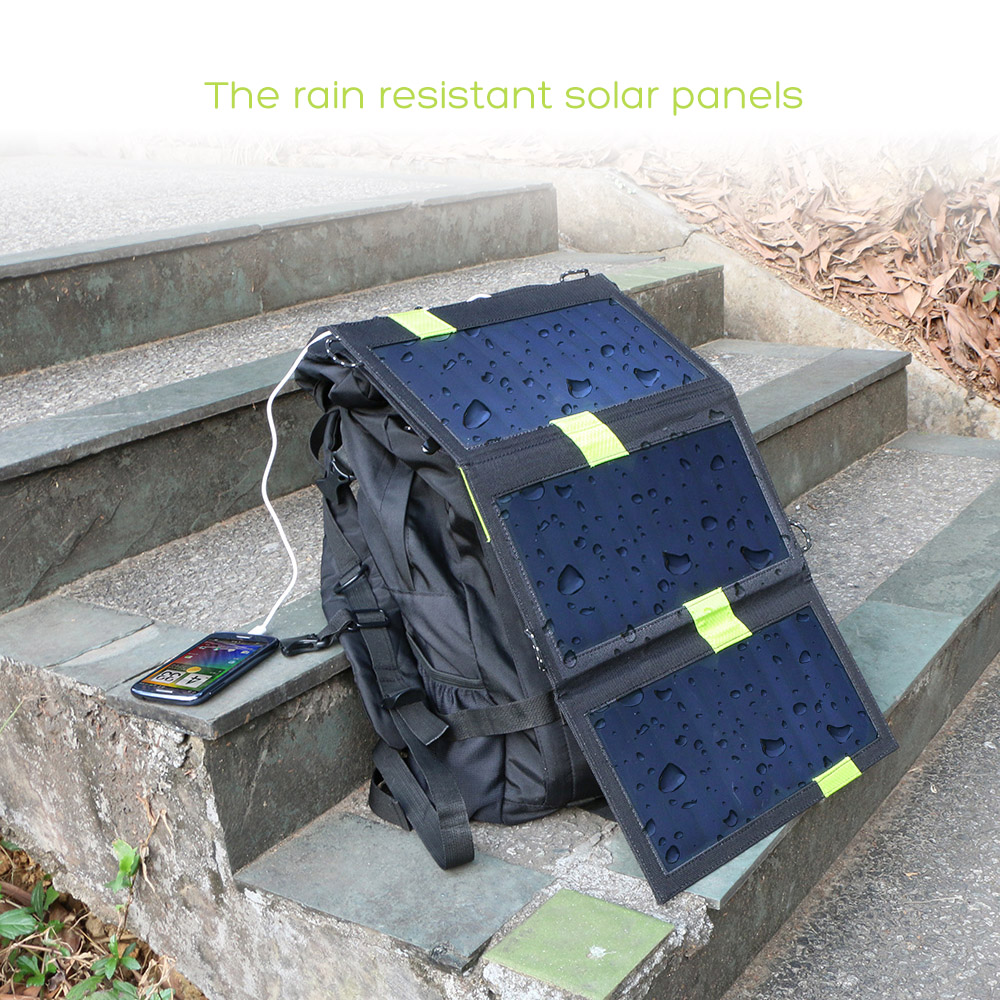 X DRAGON 20W Solar Panel Charger with iSolar Technology for iPhone ipad iPods Samsung Android Smartphones and More in Solar Cells from Consumer Electronics
