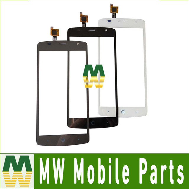 1PC/Lot High Quality Black white Color For ZTE Blade  L5 Plus Touch Screen Digitizer Touch Panel Black White Grey  Color