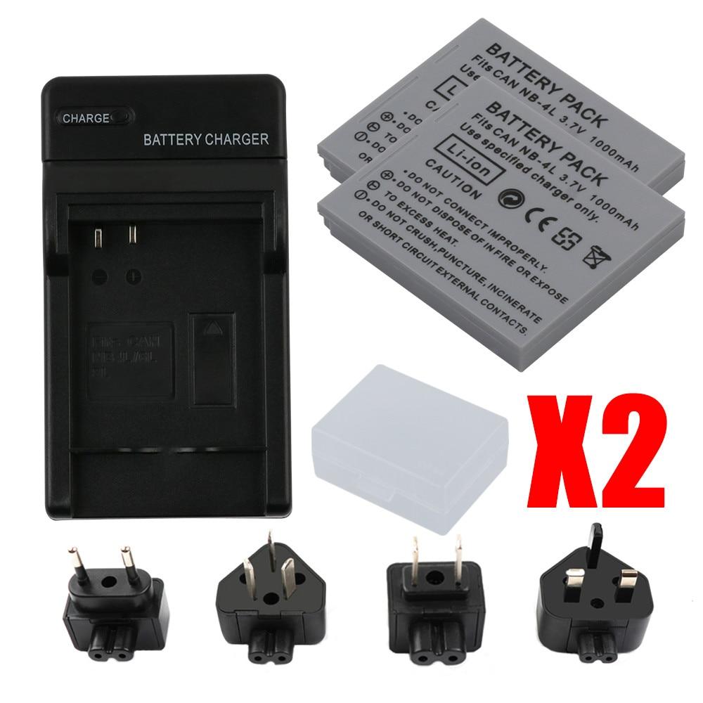 Cargador para Canon Digital IXUS 30 IXUS 55 IXUS 50 IXUS 60 IXUS 65 IXUS 40