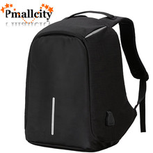Multifunction USB charging Men 15 15.6 inch Laptop Backpack for Teenager Fashion Male Mochila Leisure Travel backpack anti thief