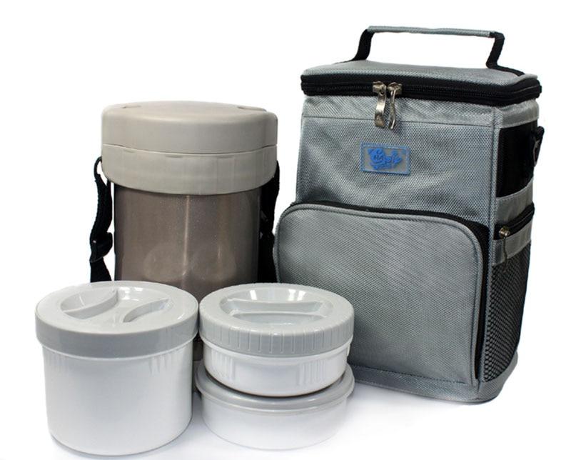 sacolas de isolamento lancheira bolsa Size : 18*15*26(cm)