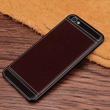 Redmi Note 5A 2GB 16GB Cover Leather Texture Soft TPU Case