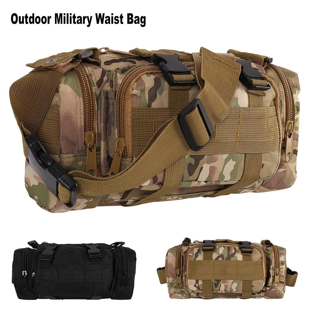 Outdoor Waist Leg Bag Waterproof Nylon Military Tactical Camping Hiking Backpack Pouch Hand Bag Military Bolsa Style Mochila Fine Jewelry