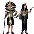 Египет Принцесса Костюмы 2017 Новый Египетский фараон Косплей маскарад Хэллоуин взрослых детей kid Девушка костюм Клеопатры королевский