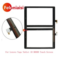 High Quality 8 For Lenovo Yoga Tablet 8 B6000 Touch Screen Digitizer Sensor Panel Front Glass