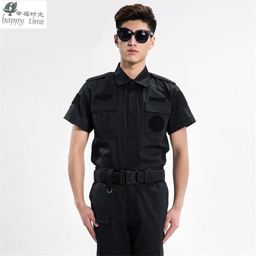 Happy time uniforme militaire vêtements de sécurité armée de l'uniforme de combat militaire vêtements de garde tactique - 2
