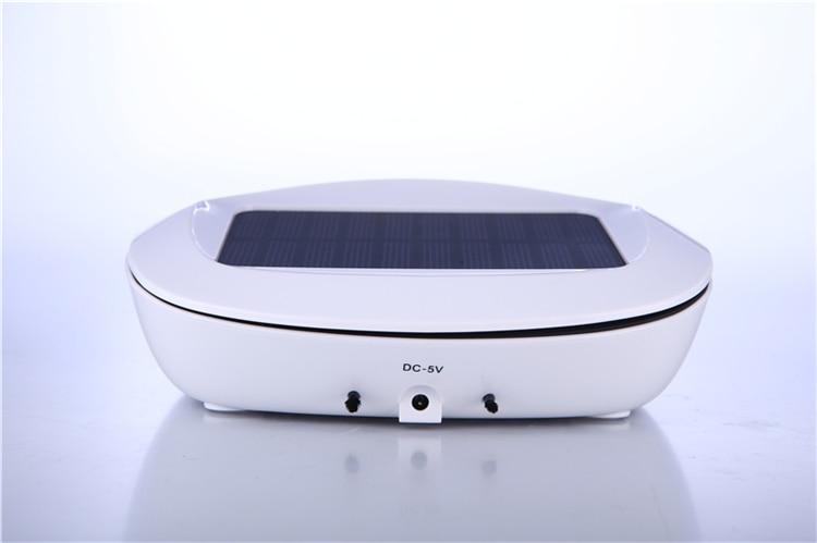 Car accessories mini ionizer Solar energy car air purifier personal solar energy portable mini car ozone air purifier high efficient car air purifier