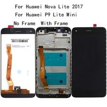5.0''Original For Huawei Nova lite 2017 LCD Display Touch Screen Digitizer Assembly for P9 Lite mini LCD SLA L02 L22 L03 Tools