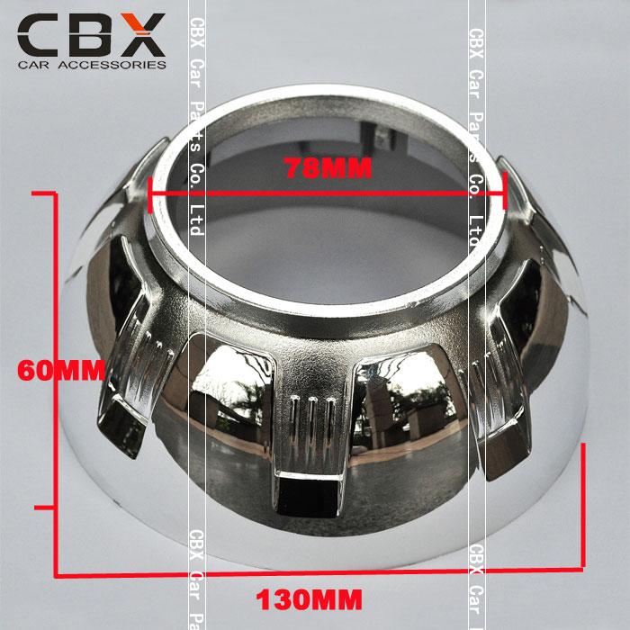 3 Inç hid Q5 Koito için Projektör Lens Örtüsü HL G2 HL G3 HL G4 - Araba Farları - Fotoğraf 3