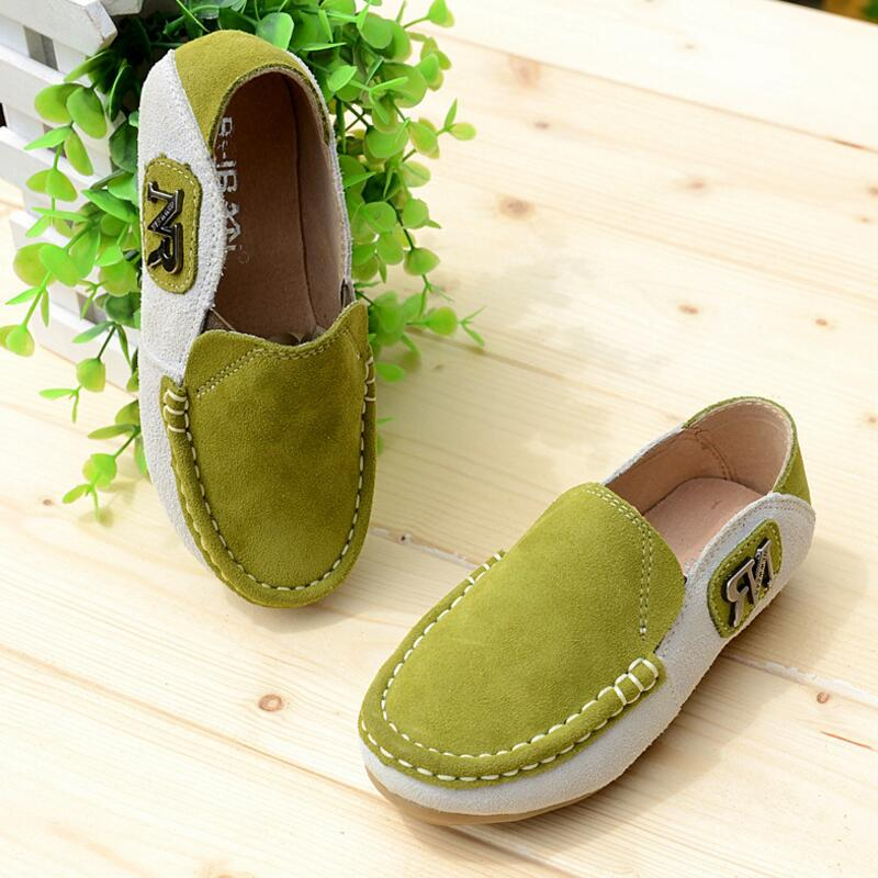 2016 Spring Eur21-35 Super Quality Chaussure Enfant Children Genuine Leather Male Kids Shoes, Boy Baby Leisure Shoes .