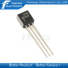 100PCS BC547C TO-92 BC547 TO92 547C new triode transistor free shipping(China (Mainland))