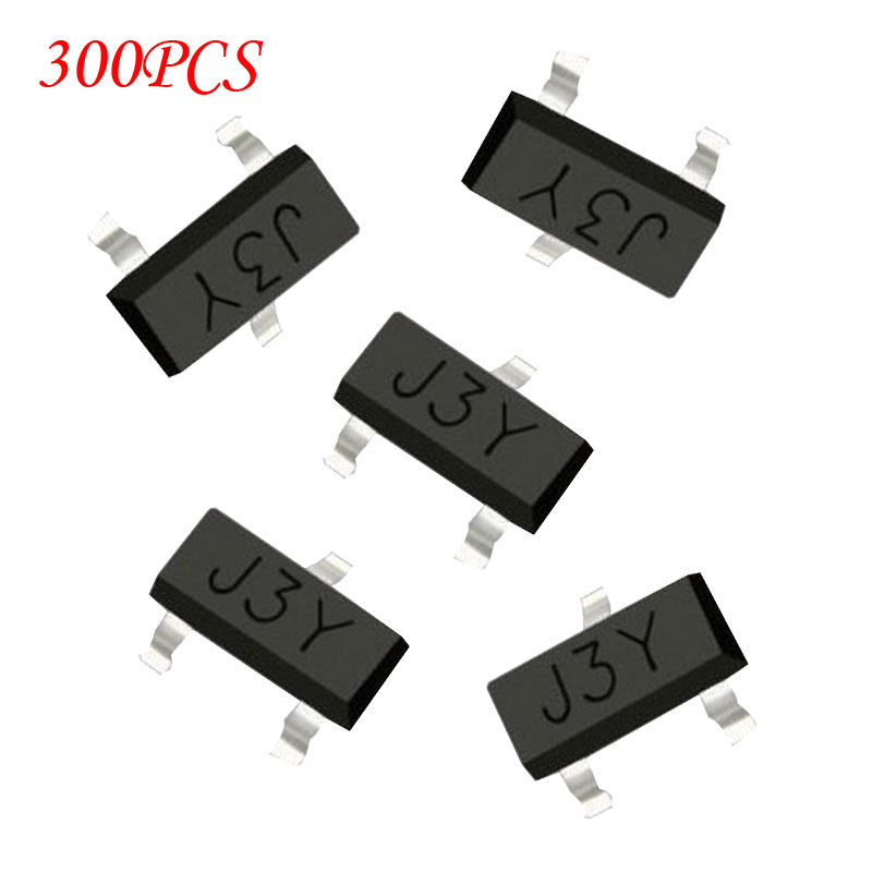 300PCS-SMD-S8050-J3Y-NPN-SMD-Transistor-new-and-original-IC Datasheet Transistor Smd on npn 2222a, 2n444a germanium, 2n2219a, s8050 d331, current emittor 2n2222, 2n3906 pnp,