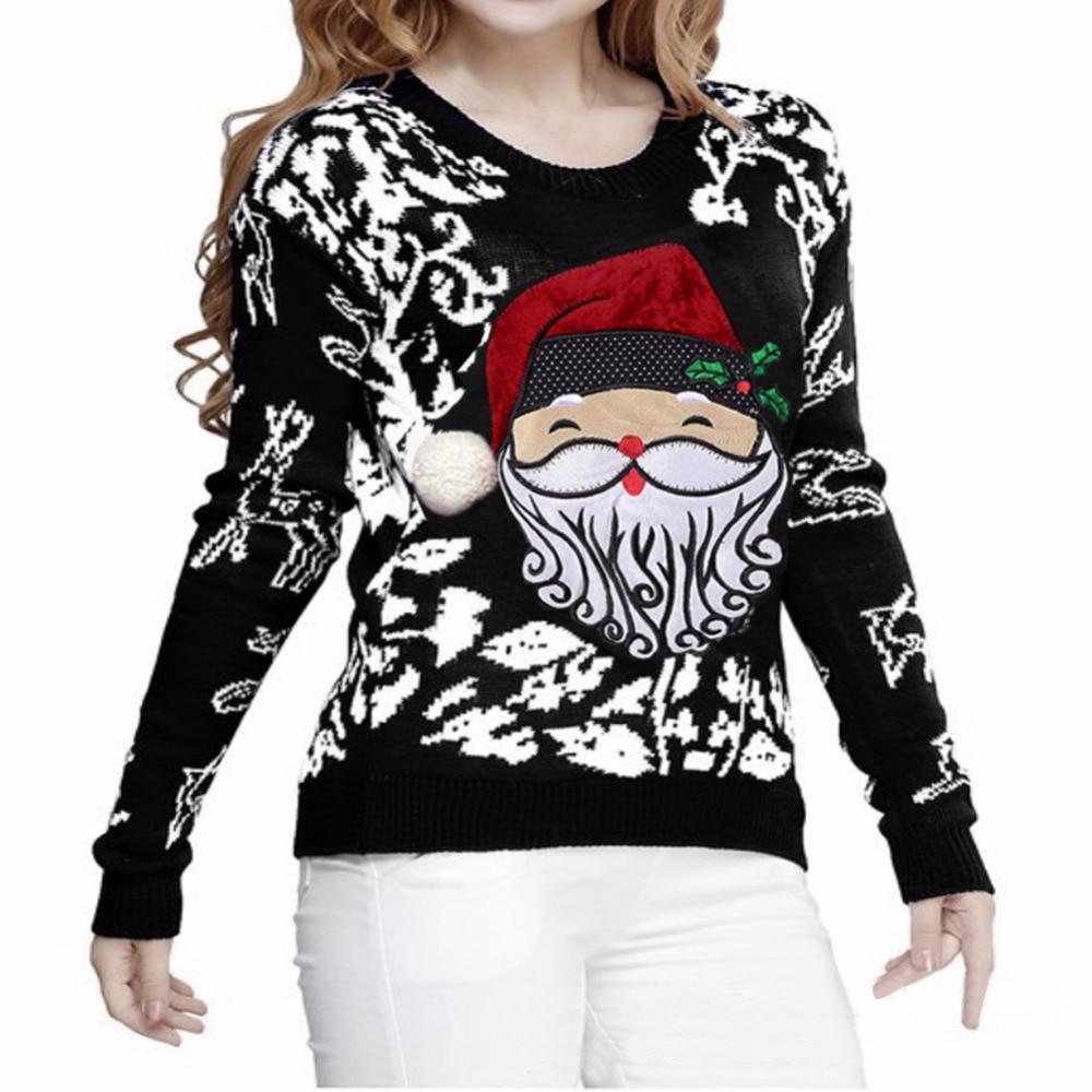 Online Get Cheap Red Christmas Sweaters Women -Aliexpress.com ...
